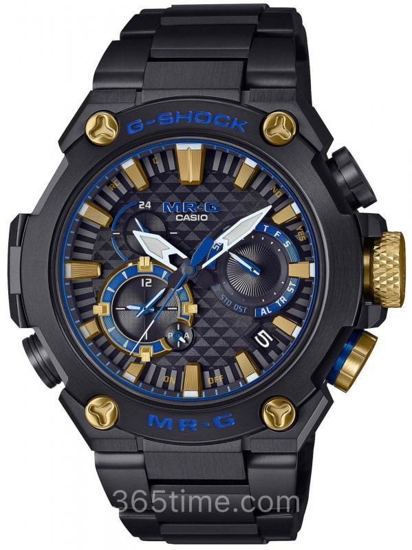 Casio卡西欧G-SHOCK MR-G Kachi-Iro腕表MRG-B2000B-1A