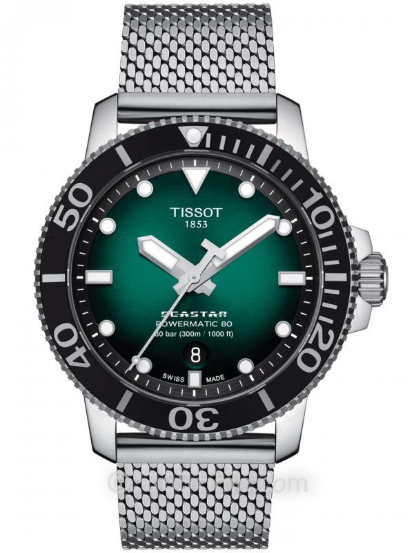 TISSOT天梭SEASTAR 1000自动机械T120.407.11.091.00