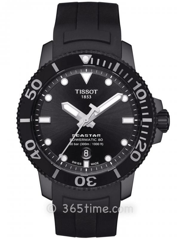 TISSOT天梭SEASTAR 1000自动机械T120.407.37.051.00