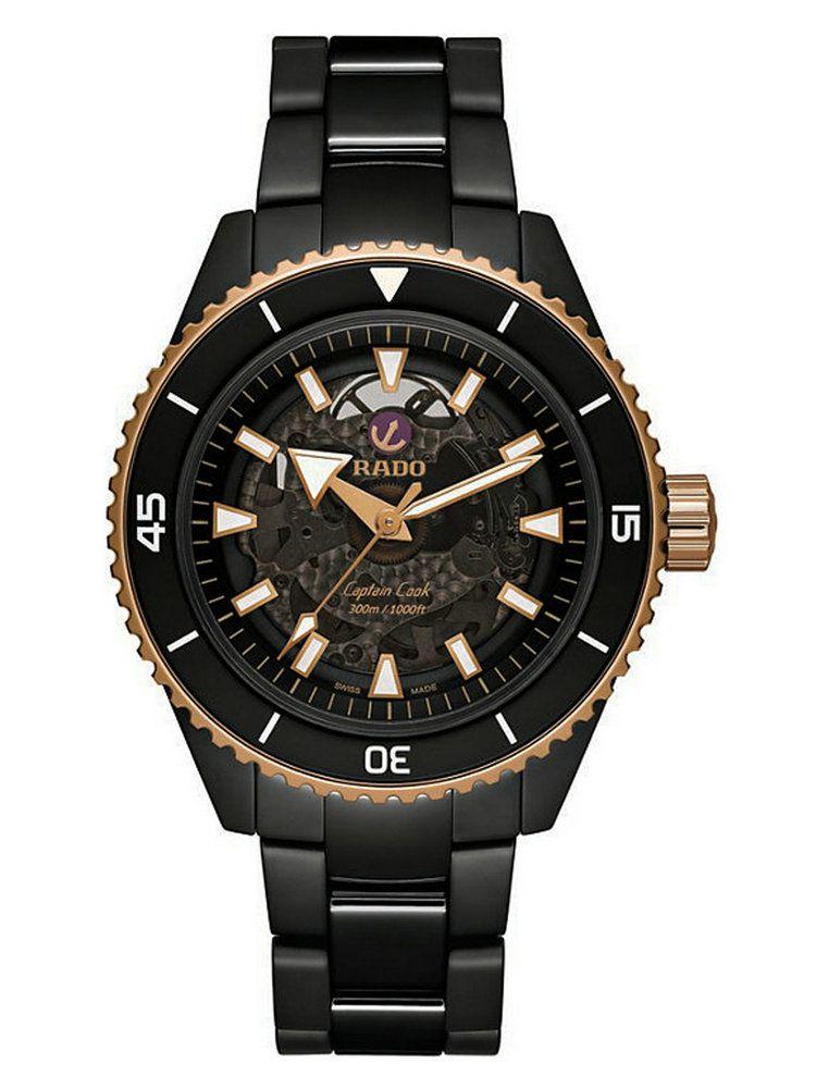 雷达库克船长系列高科技陶瓷腕表01.734.6127.3.016