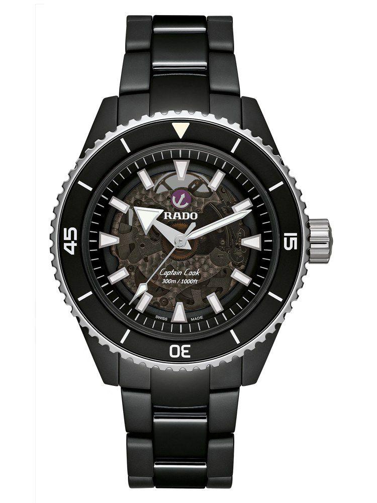 雷达库克船长系列高科技陶瓷腕表01.734.6127.3.015