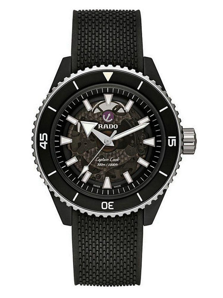 雷达库克船长系列高科技陶瓷腕表01.734.6127.3.215