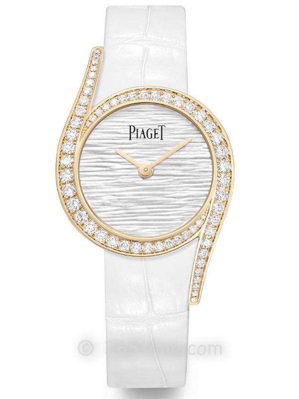 PIAGET伯爵LimeLight Gala系列珍珠母贝宫廷式图腾腕表G0A46151