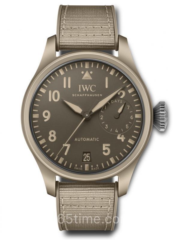 "IWC万国大型飞行员TOP GUN海军空战部队""莫哈维沙漠""特别版IW506003"