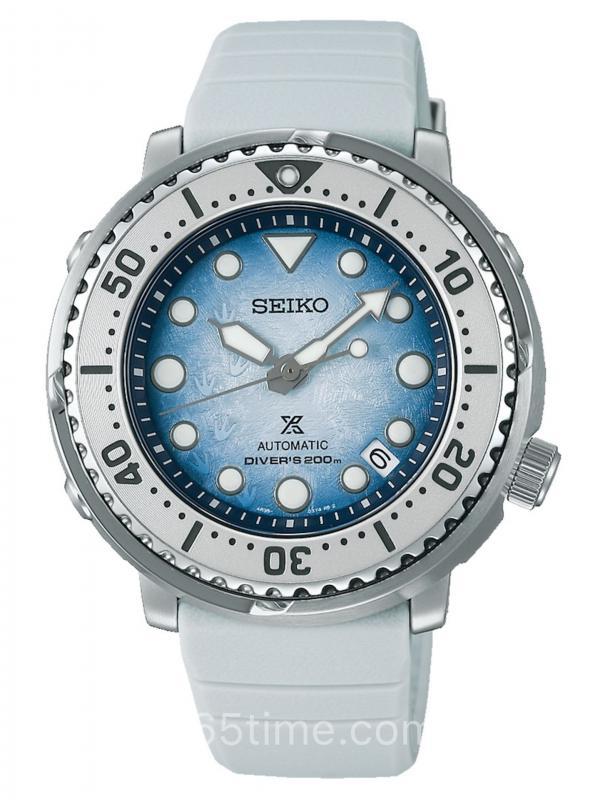 """SEIKO精工PROSPEX""""保护南极海洋""""特别版潜水表SRPG59K1"""