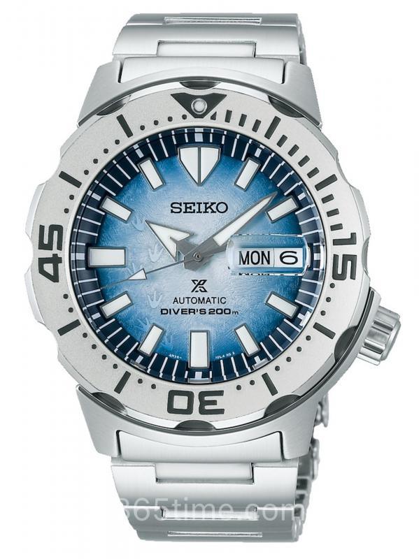 """SEIKO精工PROSPEX""""保护南极海洋""""特别版潜水表SRPG57K1"""