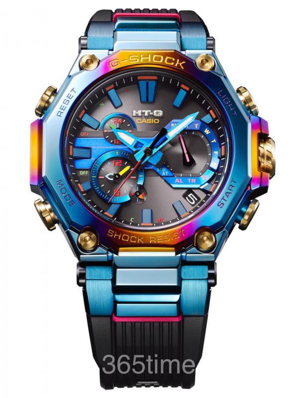 CASIO卡西欧G-SHOCK MT-G蓝凤凰腕表MTG-B2000PH-2A