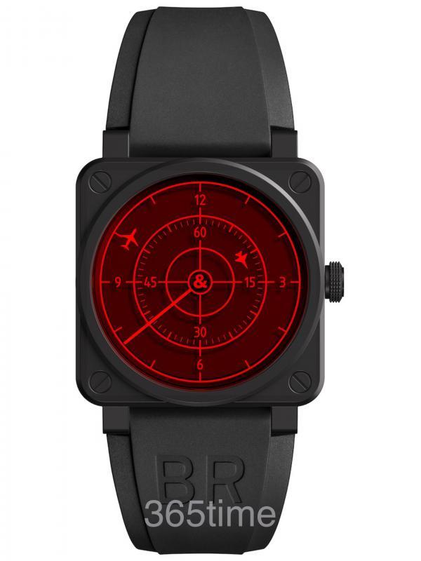 Bell & Ross BR 03-92 Red Radar CeramiBR0392-RRDR-CE/SRB