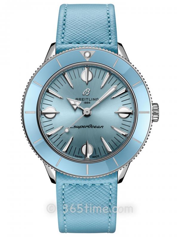 百年灵超级海洋文化系列腕表`57粉彩天堂胶囊系列A10340161C1X1