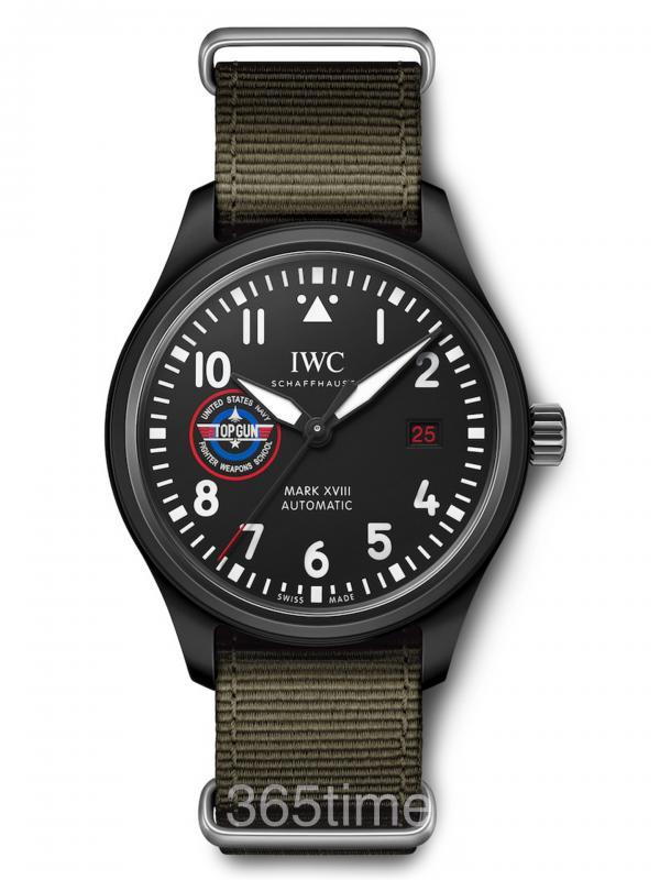 "IWC万国表马克十八飞行员 TOP GUN海军空战部队""SFTI""特别版IW324712"
