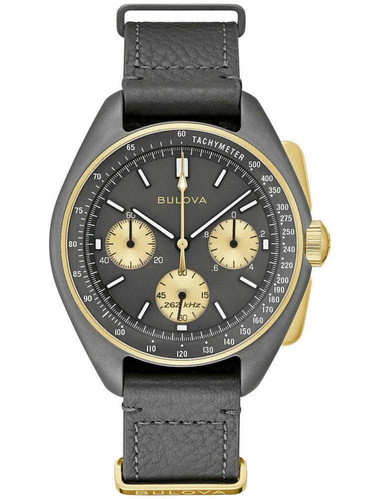 """宝路华Lunar Pilot""""50周年纪念版""""计时码表98A285"""