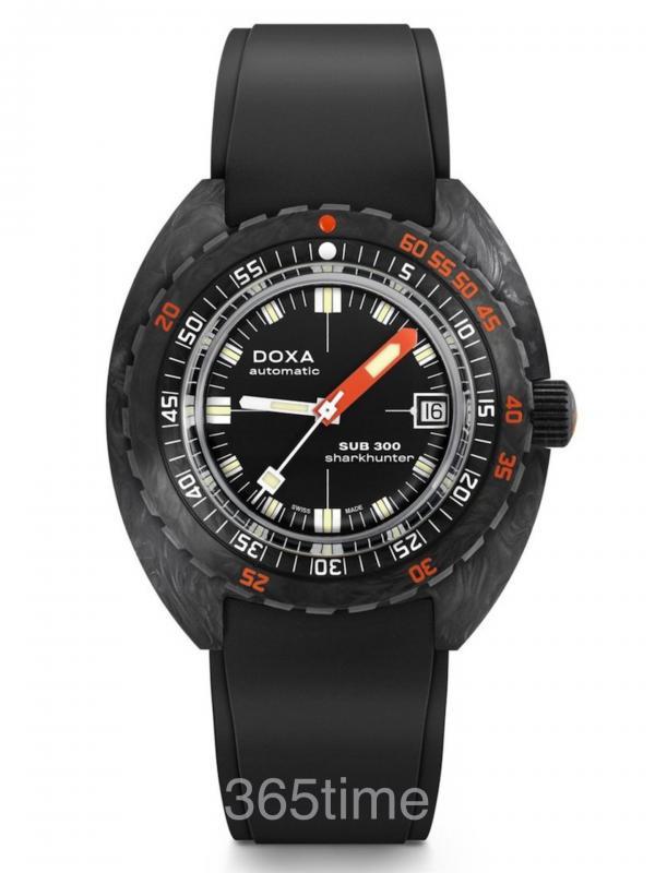 时度SUB 300碳纤维自动潜水表822.70.101.20