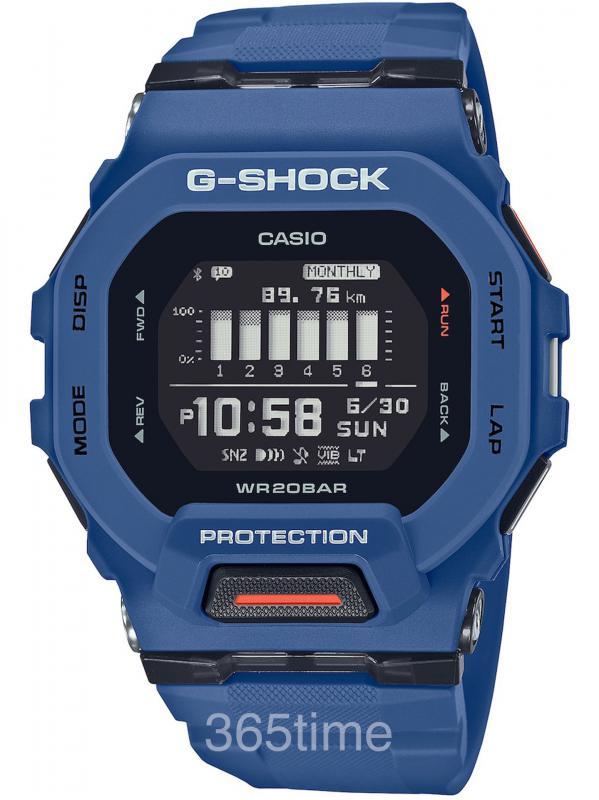卡西欧G-SHOCK G-SQUAD GBD-200智能GBD-200-2