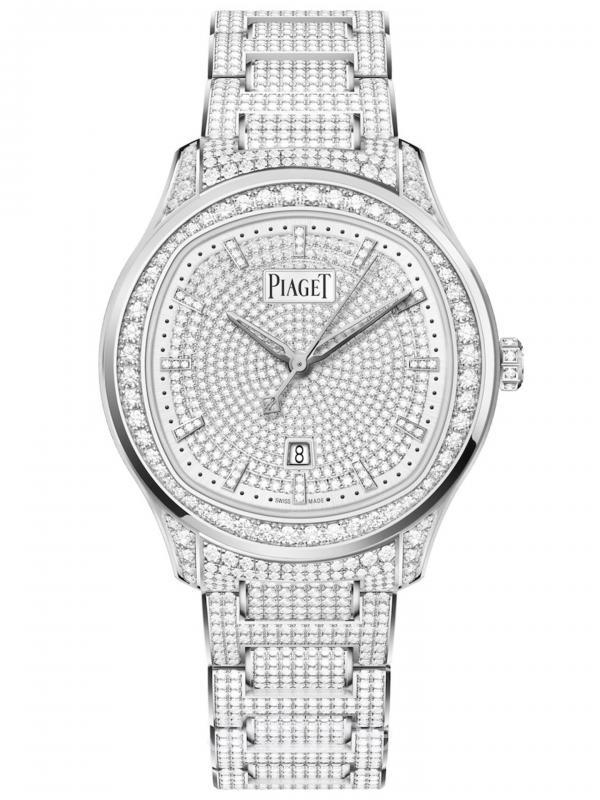 PIAGET伯爵POLO DATE高级珠宝G0A46022