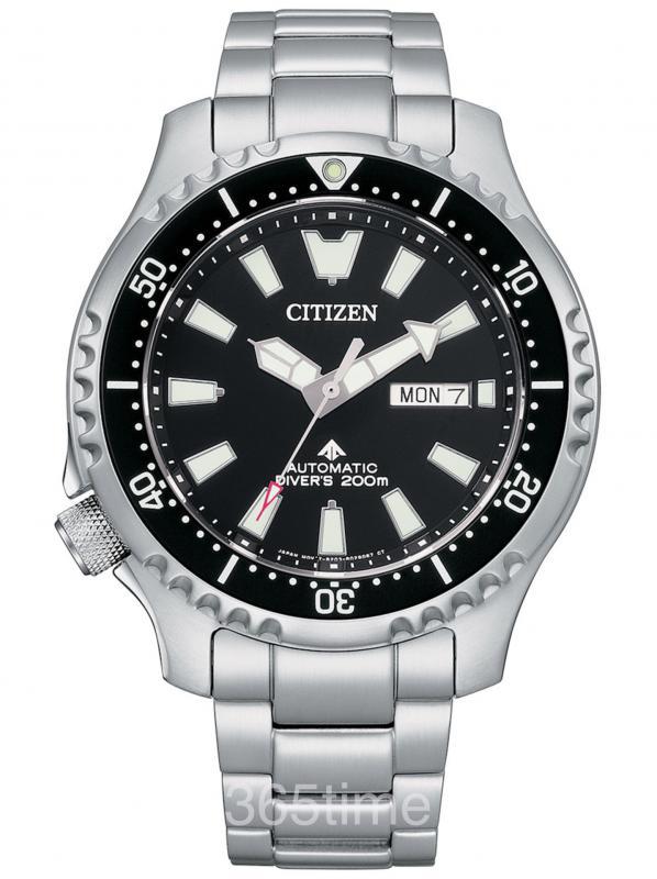 西铁城Promaster 200m机械潜水表NY0130-83E