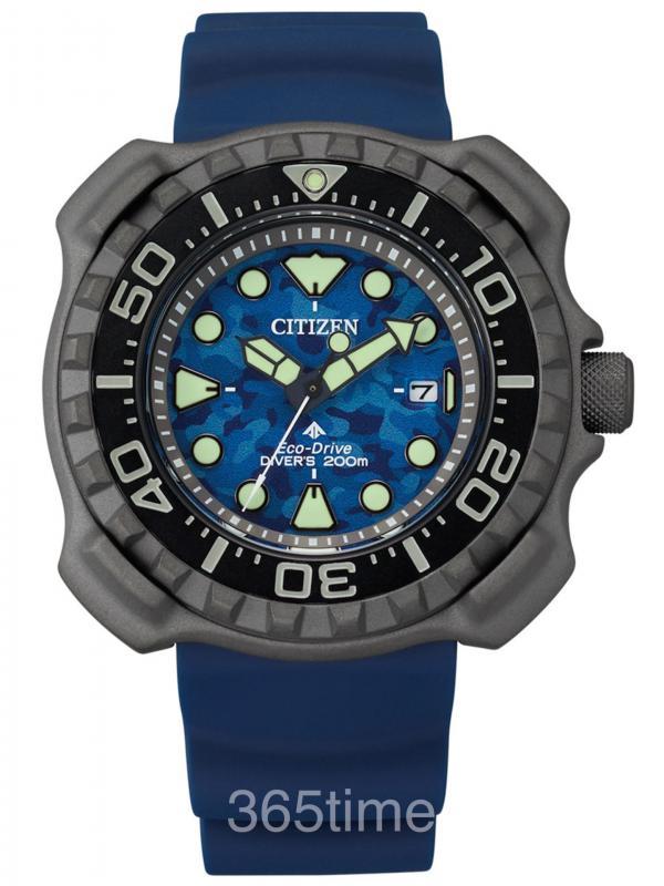 西铁城PROMASTEREco-Drive Diver 200mBN0227-09L