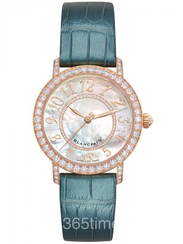 宝珀Ladybird女装系列钻石舞会炫彩腕表33660-2954-H55A