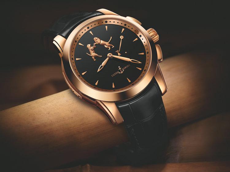 雅典珍贵独特机械腕表系列6106-130_E2-Tiger