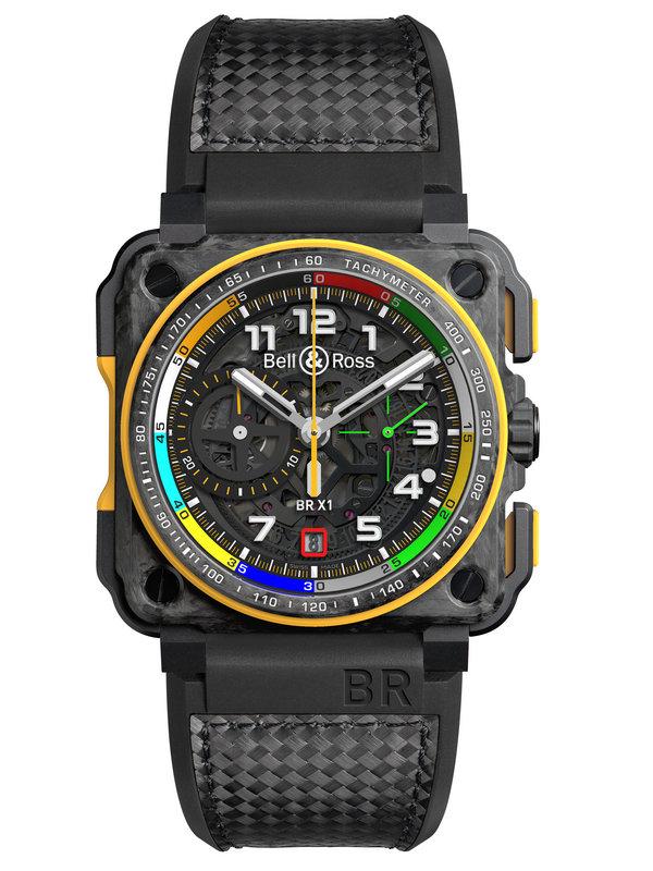 柏莱士AVIATION系列BR-X1 RS17限量版计时腕表