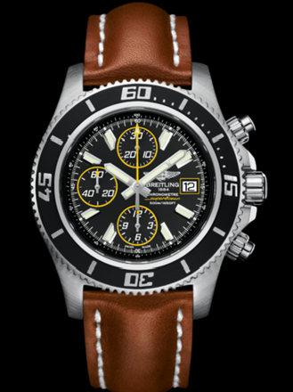百年灵超级海洋计时腕表二代系列A1334102/BA82金皮带