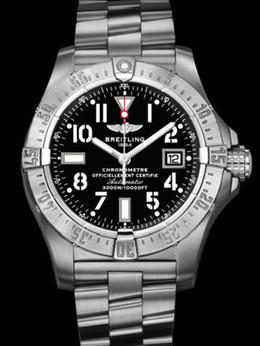 百年灵深潜海狼腕表系列A1733010/B906专业钢带