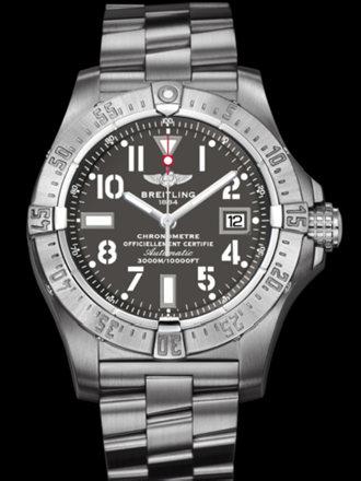 百年灵复仇者深潜海狼腕表系列A1733010/F538专业钢带