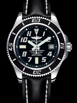 百年灵超级海洋42腕表系列A1736402/BA28黑superocean带