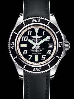 百年灵超级海洋42腕表系列A1736402/BA29黑皮带