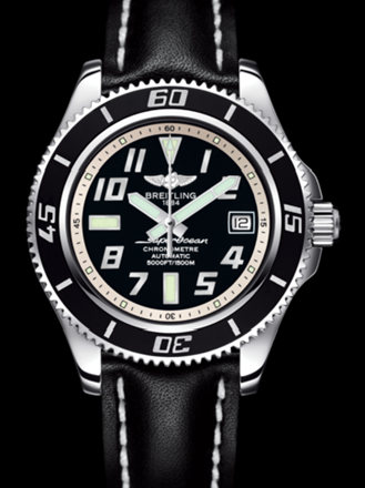 百年灵超级海洋42腕表系列A1736402/BA29黑superocean带