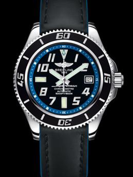 百年灵超级海洋42腕表系列A1736402/BA30蓝皮带