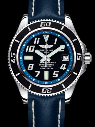 百年灵超级海洋42腕表系列A1736402/BA30黑superocean带