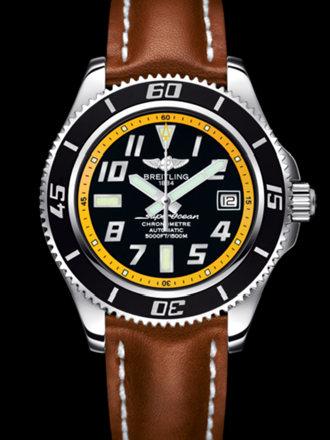 百年灵超级海洋42腕表系列A1736402/BA32金皮带
