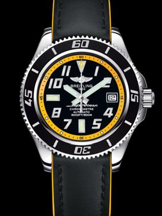 百年灵超级海洋42腕表系列A1736402/BA32黑superocean带