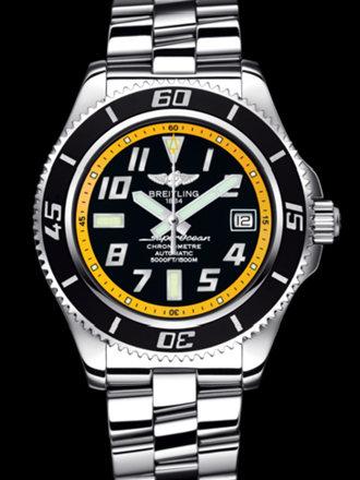 百年灵超级海洋42腕表系列A1736402/BA32专业钢带
