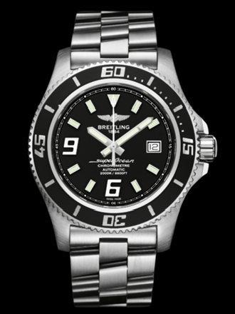 百年灵超级海洋44腕表系列A1739102/BA77专业钢带