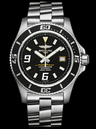 百年灵超级海洋44腕表系列A1739102/BA78专业钢带