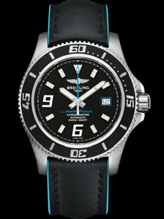 百年灵超级海洋44腕表系列A1739102/BA79黑superocean带