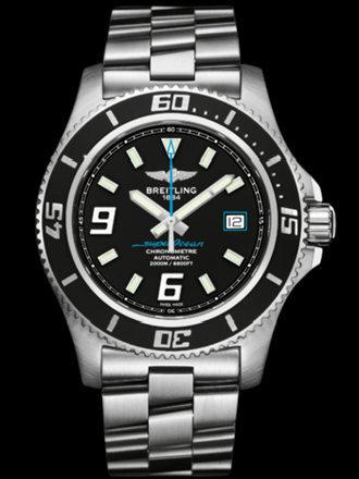 百年灵超级海洋44腕表系列A1739102/BA79专业钢带