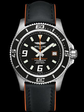 百年灵超级海洋44腕表系列A1739102/BA80黑superocean带