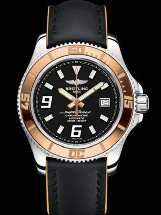 百年灵超级海洋44腕表系列A1739112/BA77黑superocean带