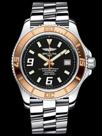 百年灵超级海洋44腕表系列A1739112/BA77专业钢带