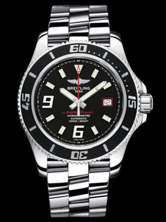 百年灵超级海洋44腕表系列A17391A8/BA76专业钢带