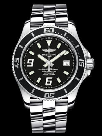 百年灵超级海洋44腕表系列A17391A8/BA77专业钢带