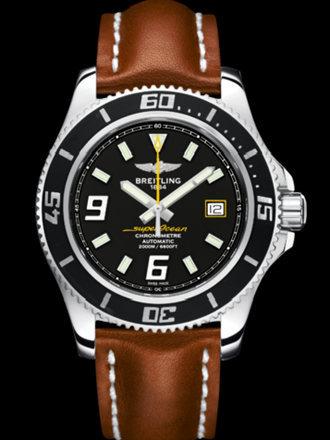 百年灵超级海洋44腕表系列A17391A8/BA78金皮带