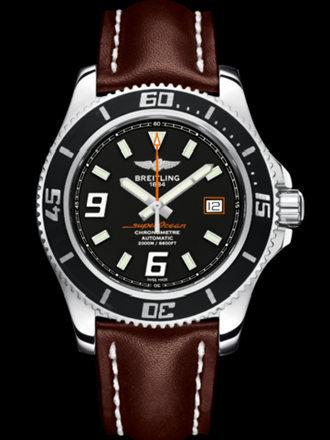 百年灵超级海洋44腕表系列A17391A8/BA80棕皮带