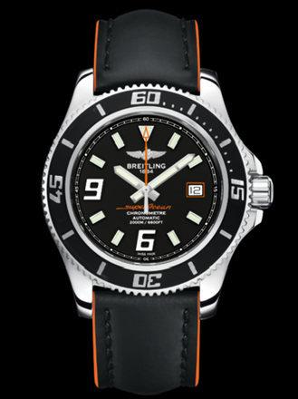 百年灵超级海洋44腕表系列A17391A8/BA80黑superocean带