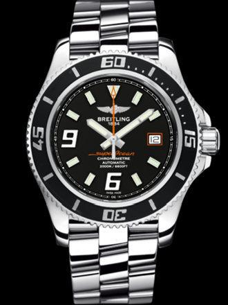 百年灵超级海洋44腕表系列A17391A8/BA80专业钢带