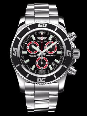 百年灵超级海洋M2000计时腕表系列A73310A8/BB72专业钢带