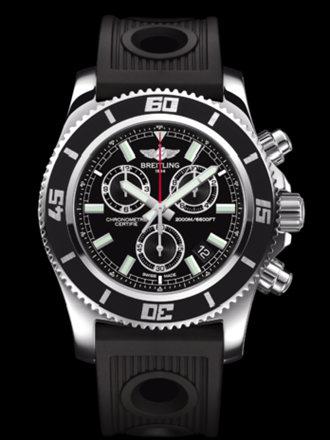 百年灵超级海洋M2000计时腕表系列A73310A8/BB73黑海洋竞赛胶带