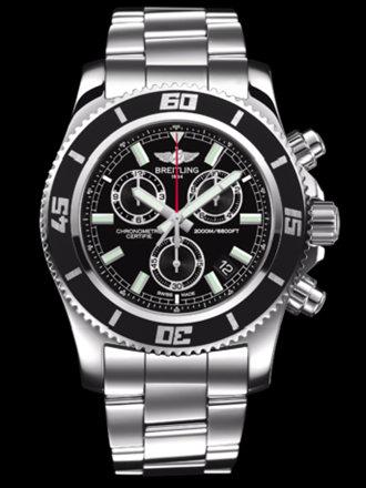百年灵超级海洋M2000计时腕表系列A73310A8/BB73专业钢带